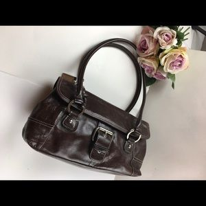 cloni Bernini. Ladies bag color brown